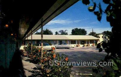 Coral Motel - Tampa, Florida FL Postcard