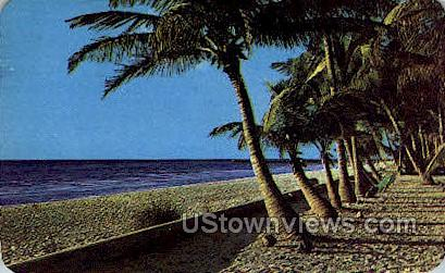 Naples-on-the-Gulf - Florida FL Postcard