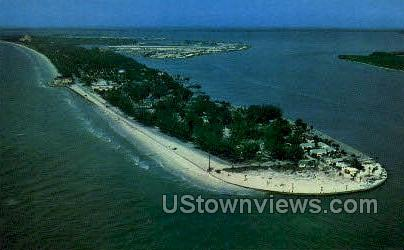 Pass-a-Grille Beach - St Petersburg, Florida FL Postcard