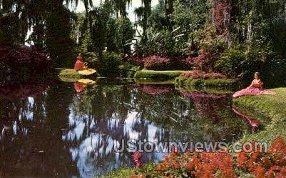 Winding Trails - Cypress Gardens, Florida FL Postcard
