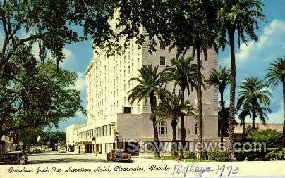 Jack Tar Harrison Hotel - Clearwater, Florida FL Postcard