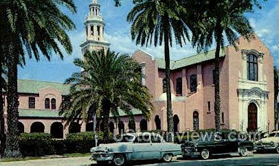 Peace Memorial - Clearwater, Florida FL Postcard