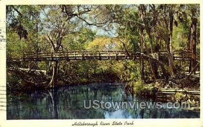 Hillsborough River State Park, Florida, FL, Postcard