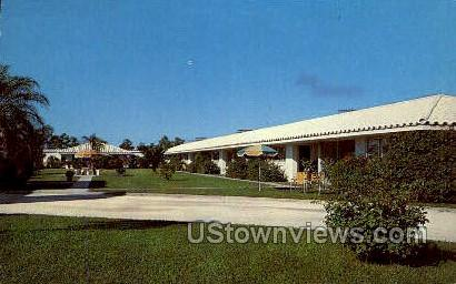 Motel Naples - Florida FL Postcard