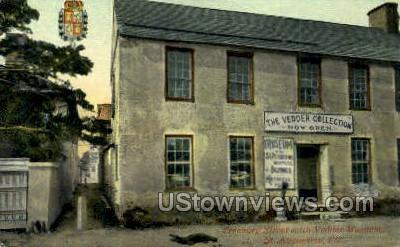 Vedder Museum - St Augustine, Florida FL Postcard