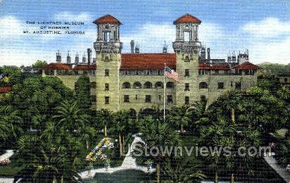 Lightner Museum - St Augustine, Florida FL Postcard