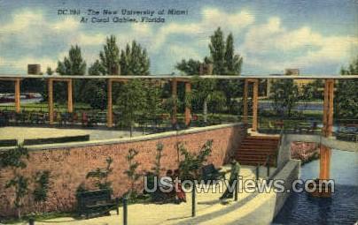 University of Miami - Coral Gables, Florida FL Postcard