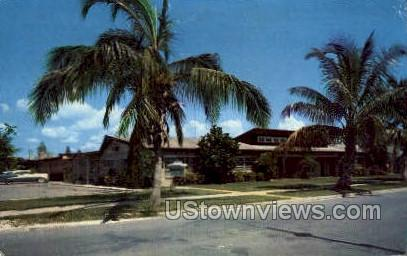 Neptune Apts - Naples-on-the-Gulf, Florida FL Postcard