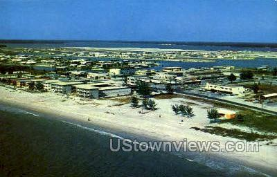 Treasure Island - St Petersburg, Florida FL Postcard