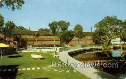 Riverside Villas - St Petersburg, Florida FL Postcard