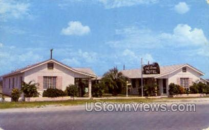 Gulf Steam Motel - St Petersburg, Florida FL Postcard