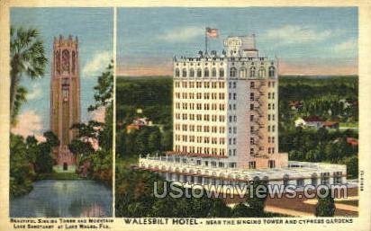 Walesbilt Hotel - Cypress Gardens, Florida FL Postcard
