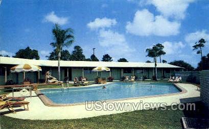 New Cabana Motel - Coral Gables, Florida FL Postcard