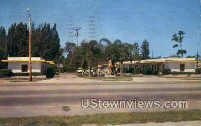 King's Court - Sarasota, Florida FL Postcard