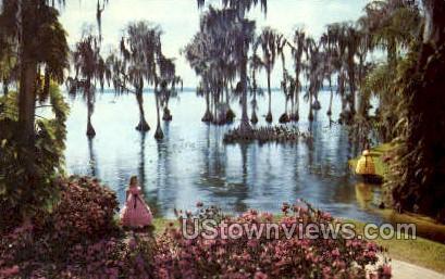 Cypress - Cypress Gardens, Florida FL Postcard