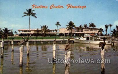 Visitors Center - Everglades National Park, Florida FL Postcard