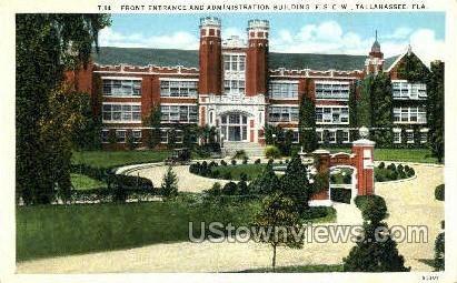 Administration Building - Tallahassee, Florida FL Postcard