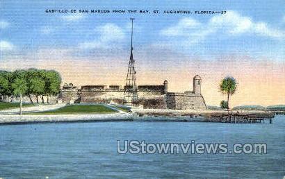 Castillo de San Marcos - St Augustine, Florida FL Postcard