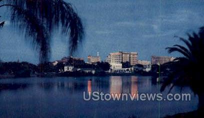 Downtown - St Petersburg, Florida FL Postcard