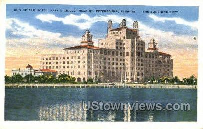 Don Ce-Sar Hotel - St Petersburg, Florida FL Postcard