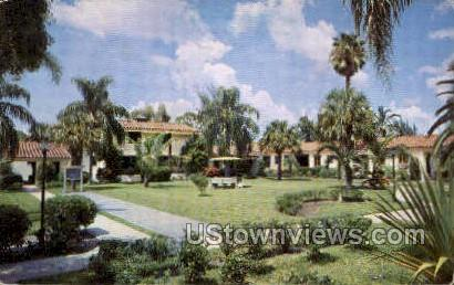 El Rancho Motor Lodge - St Petersburg, Florida FL Postcard