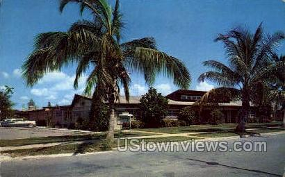 Neptune Apt - Naples-on-the-Gulf, Florida FL Postcard