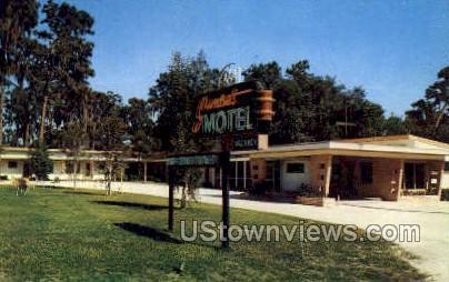Sunset Motel - Leesburg, Florida FL Postcard