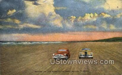 Tracks - Daytona, Florida FL Postcard