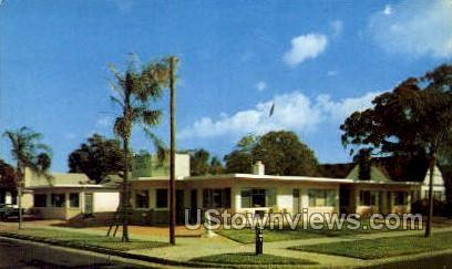 Ja Nita Apts - St Petersburg, Florida FL Postcard
