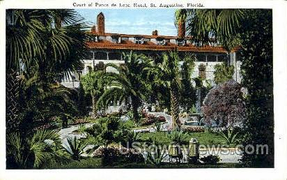 Ponce de Leon Hotel - St Augustine, Florida FL Postcard