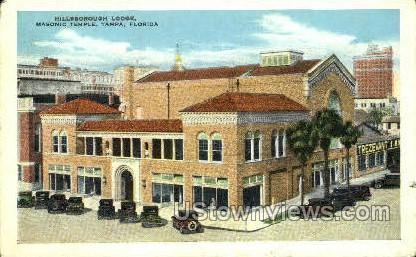 Hillsborough Lodge - Tampa, Florida FL Postcard