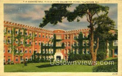 Broward Hall - Tallahassee, Florida FL Postcard