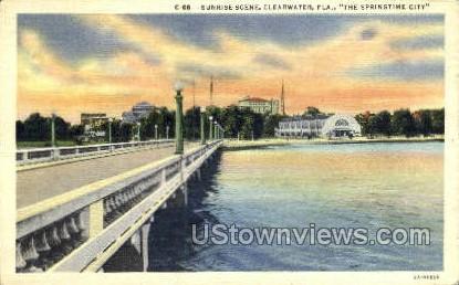 Sunrise - Clearwater, Florida FL Postcard