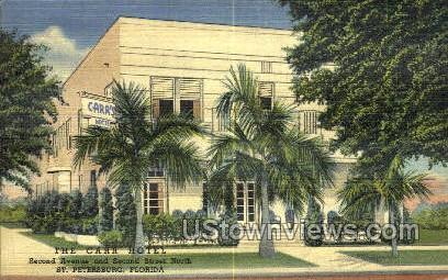 Carr Hotel - St Petersburg, Florida FL Postcard