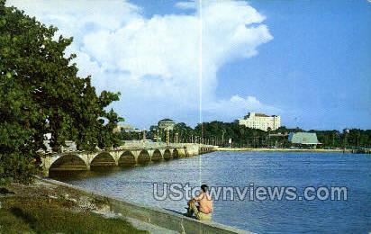 Skyline - Clearwater, Florida FL Postcard