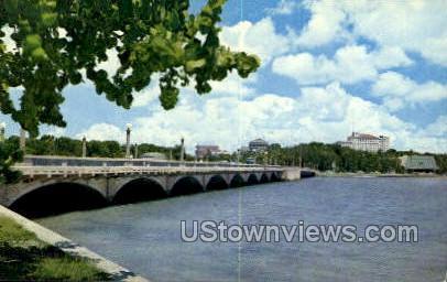 Bridge - Clearwater, Florida FL Postcard