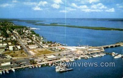 Marina - Clearwater Beach, Florida FL Postcard