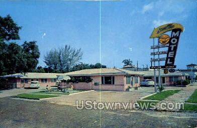 Sun Tan Motel - St Petersburg, Florida FL Postcard
