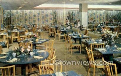 Burdine's Hibiscus Tea Room - Miami, Florida FL Postcard