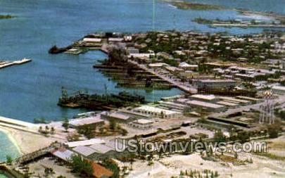 Naval Station - Key West, Florida FL Postcard