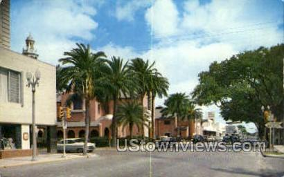 Ft Harrison Ave - Clearwater, Florida FL Postcard
