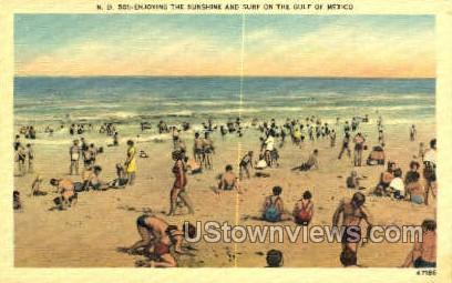 Sunshine Skyway Bridge - Gulf of Mexico, Florida FL Postcard