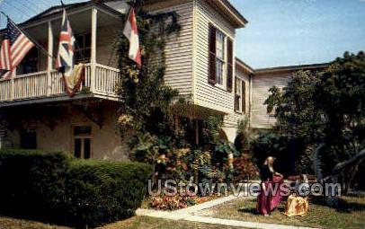 Old Spanish Treasury - St Augustine, Florida FL Postcard