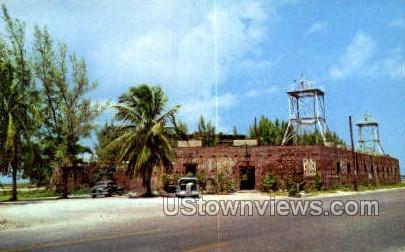East Martello Tower Museum - Key West, Florida FL Postcard