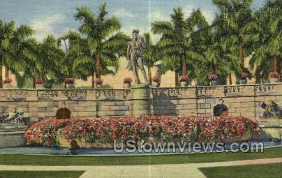 David Statue - Sarasota, Florida FL Postcard
