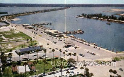 Air View - Clearwater, Florida FL Postcard