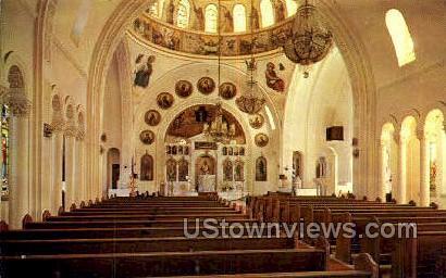 St Nicholas Greek Church - Tarpon Springs, Florida FL Postcard