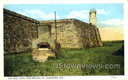 Hot Shot Oven - St Augustine, Florida FL Postcard