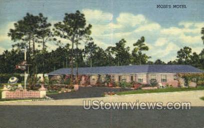 Moss's Motel - Tampa, Florida FL Postcard