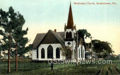 Methodist Church - Bradenton, Florida FL Postcard